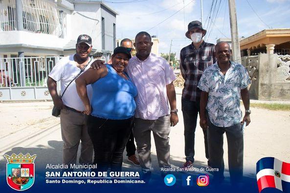 Reparación de la calle Hermanas Mirabal